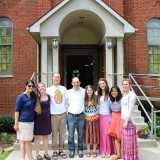The missionary family. (left) Carla, Emilly, Wyatt, Steve, Michelle, Rachel, Gabby, Me